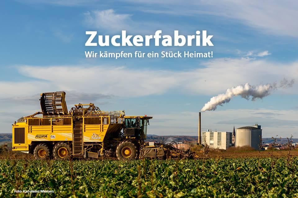 Dr. Hans-Jörg Gebhard, Eppingen, Vorsitzender des Aufsichtsrates der Südzucker AG.: Gegen die geplante Werksschließung des Werkes Warburg der Südzucker AG.