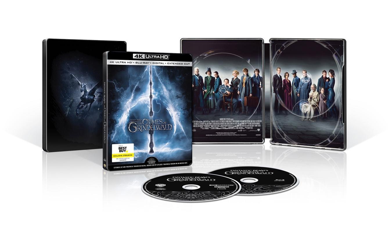 Lançamento de Blu-Ray 3D e Steelbook Animais Fantásticos 2