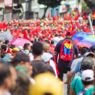 Όχι στο αμερικανοκίνητο πραξικόπημα στη Βενεζουέλα