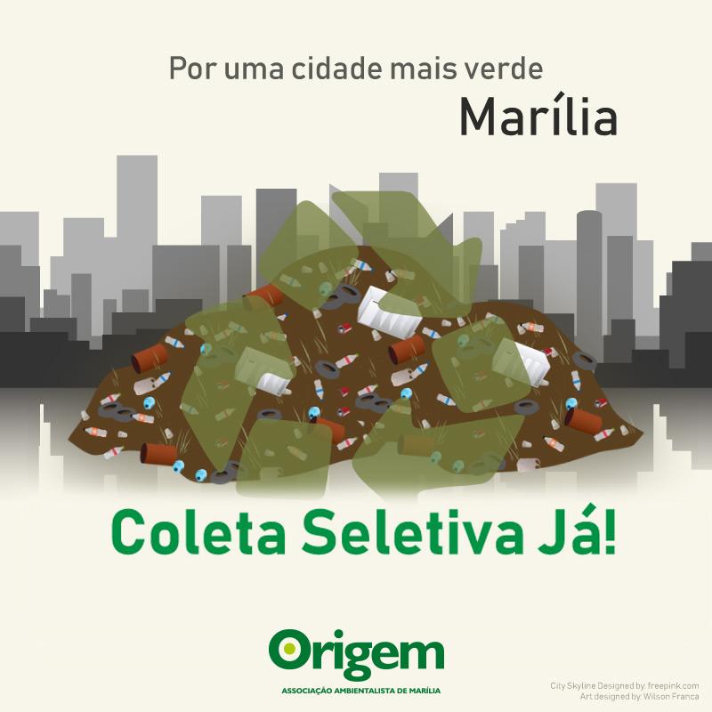 Quero Coleta Seletiva em Marília!