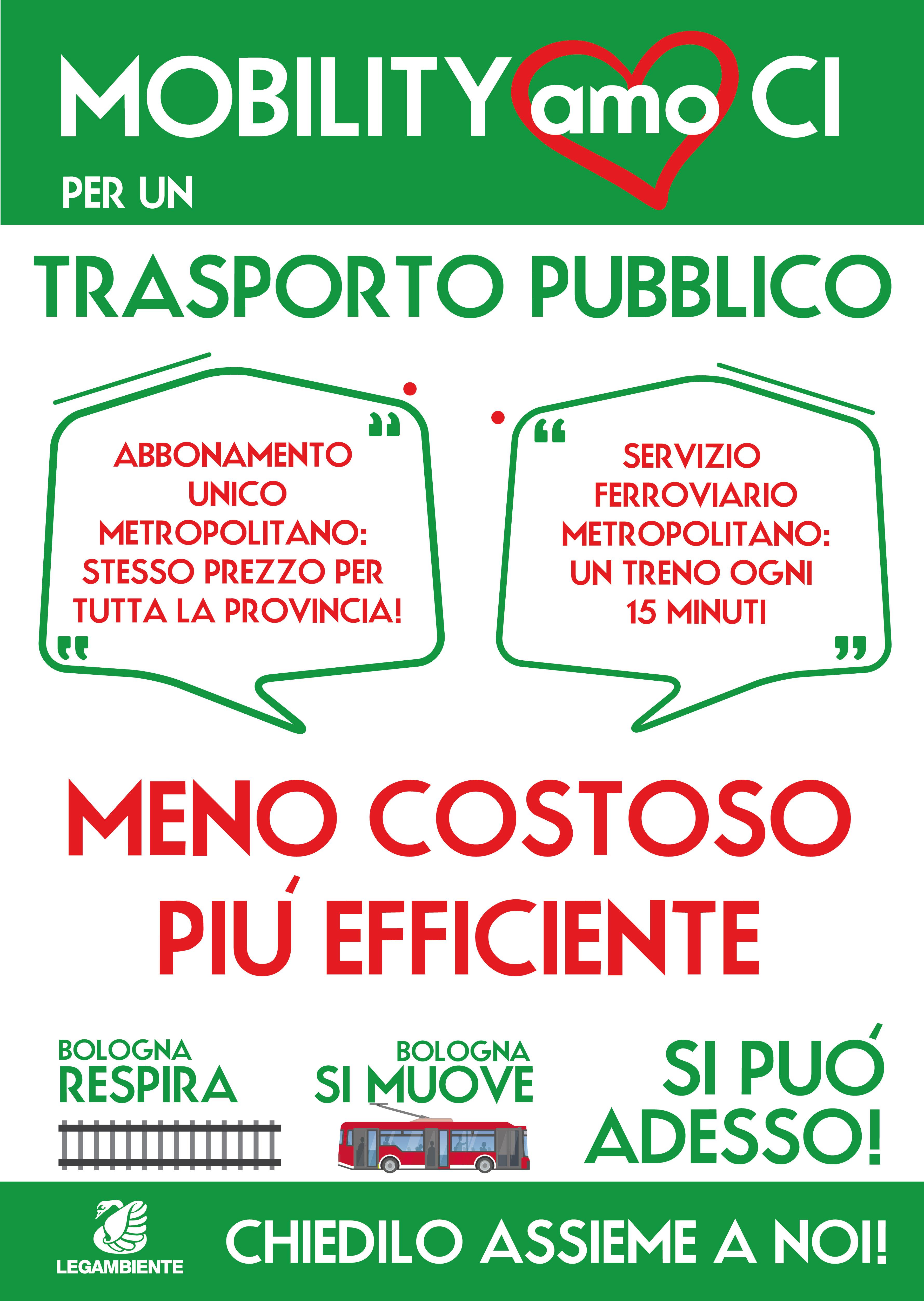 MobiltyAmoCi per un Trasporto Pubblico più efficiente e meno costoso. Si può, adesso!