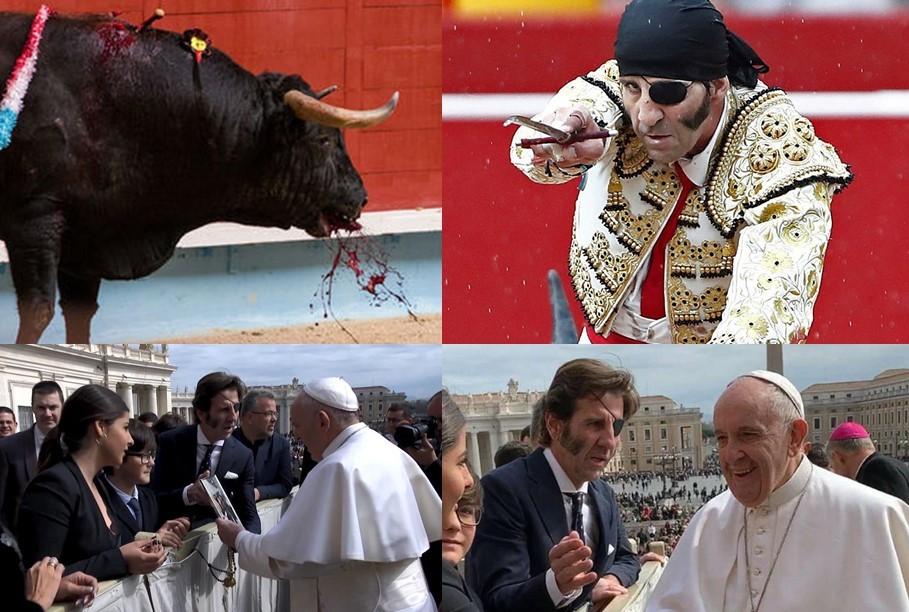 Papa Francisco honre a San Francisco de Asís: Condene las Corridas de Toros