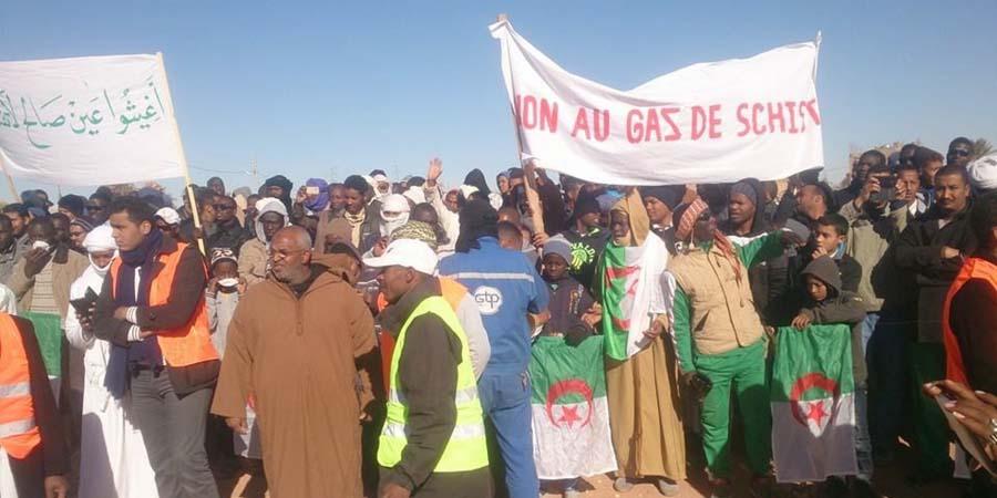 Annulation de contrats Gaz de schiste en Algérie