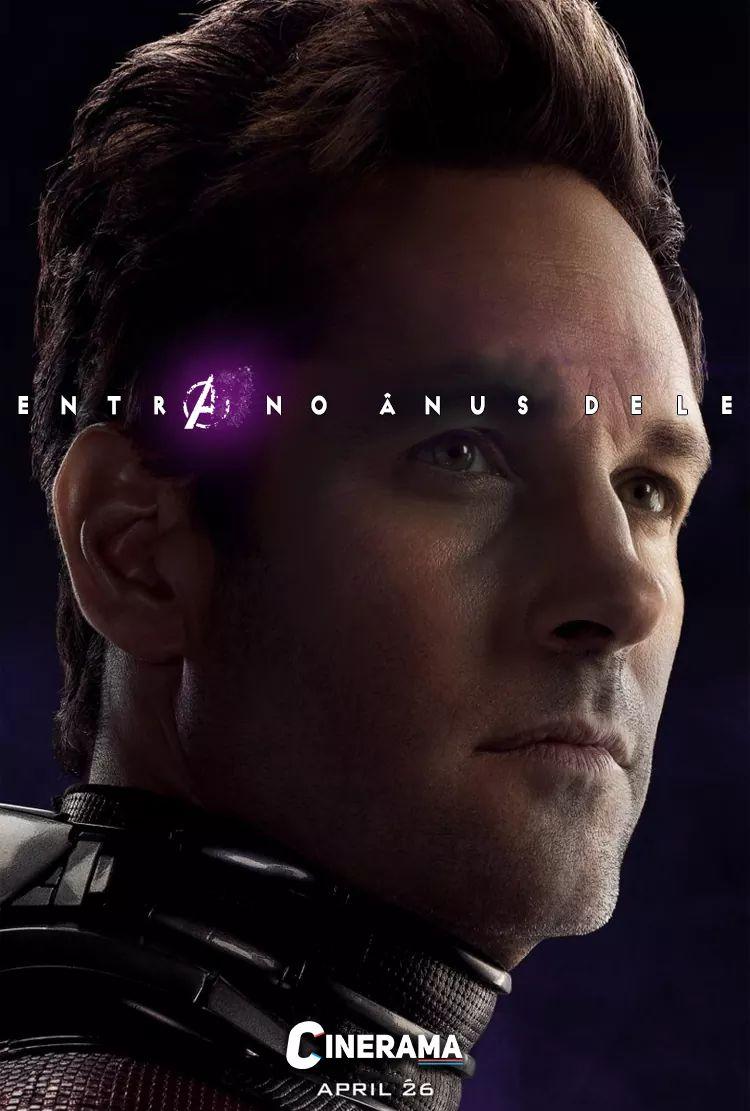 Petição para a Marvel fazer o Homem Formiga entrar no cu do Thanos