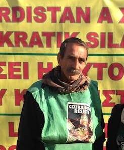 Να αφεθεί ελεύθερος ο Κούρδος αγωνιστής Τσερκέζ