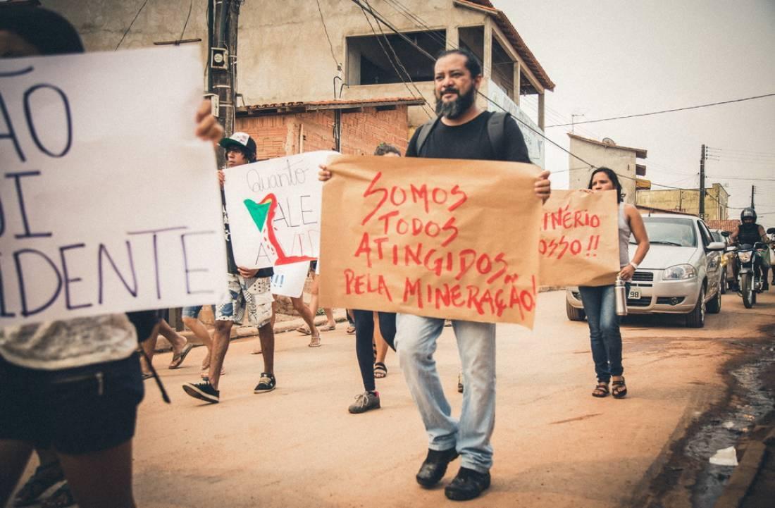 Apoio ao Prof Evandro Medeiros processado criminalmente pela Mineradora Vale S/A
