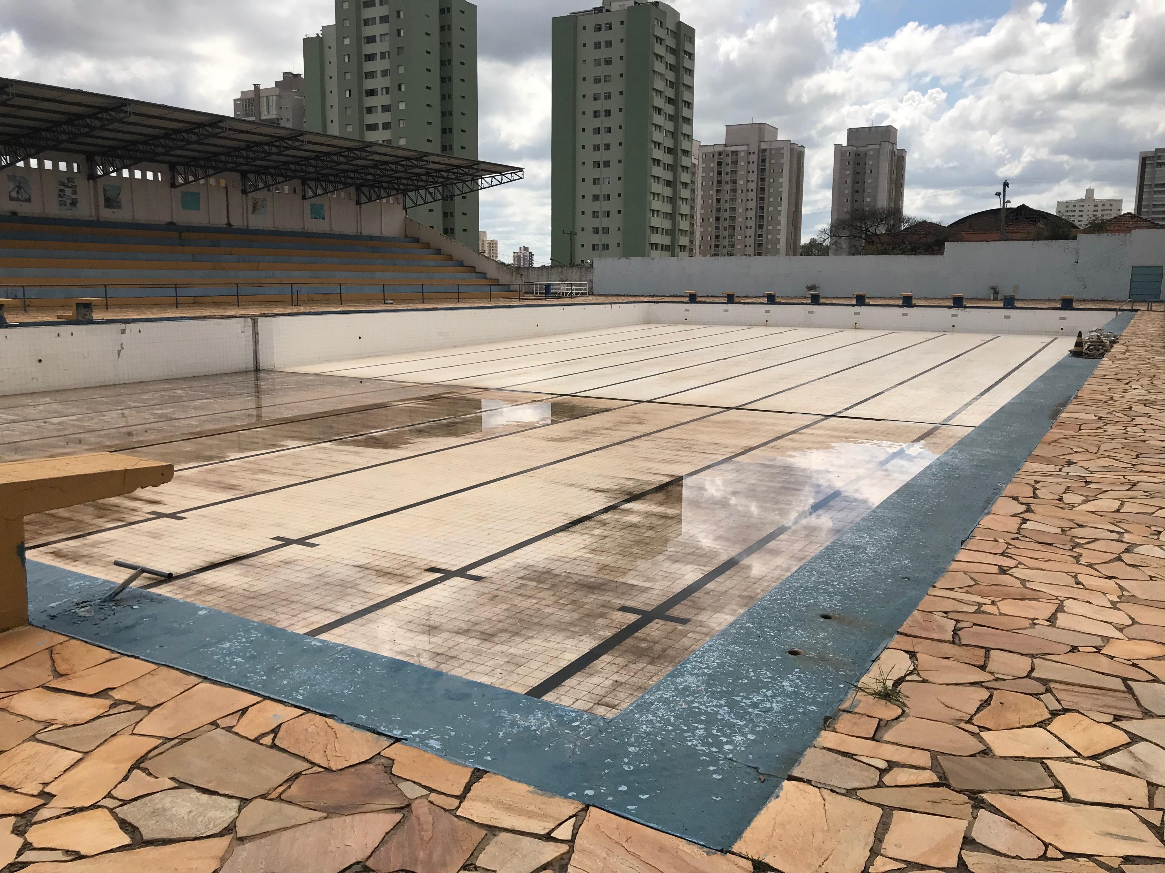 Reforma das Piscinas - Complexo Aquático Municipal Dr. Samuel de Castro Neves - Piracicaba