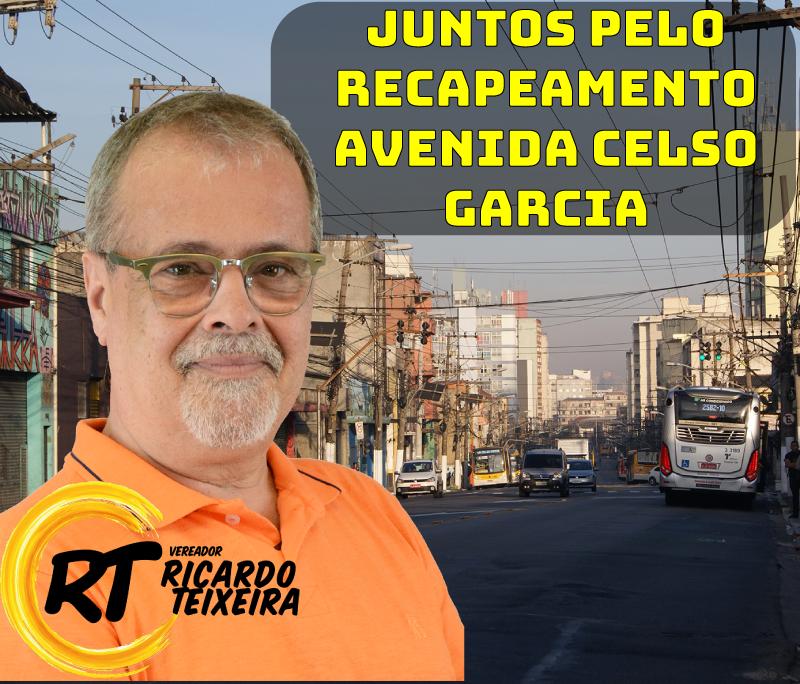 Recapeamento da Avenida Celso Garcia